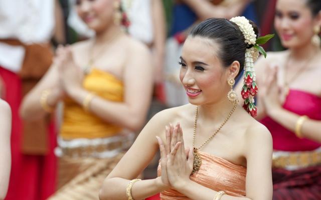 Thajský pozdrav