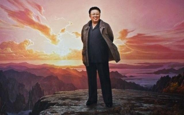 Propagandistické plakáty najdete v Pchjongjangu na každém kroku