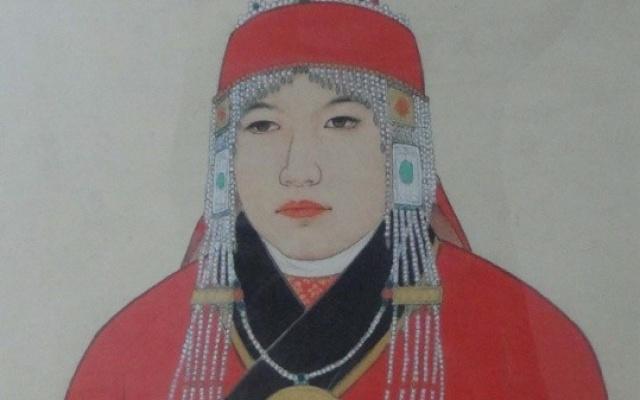 Pozdější portrét císařovny Gi