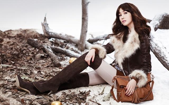 Lee Da Hae - zimní víla