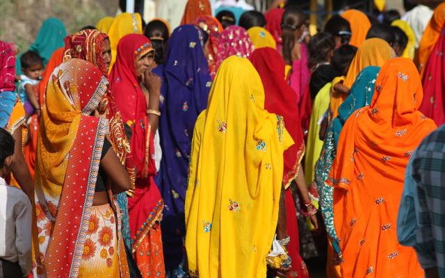 Tradiční oděvy Indie