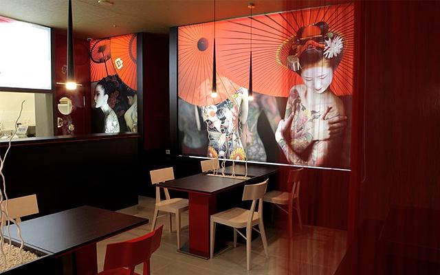 Maiko Sushi - interiér