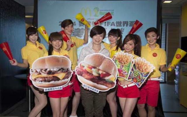 Zaměstnanci McDonaldu