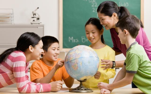 deti v škole