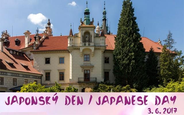 Průhonický zámek, kde se konal Japonský den