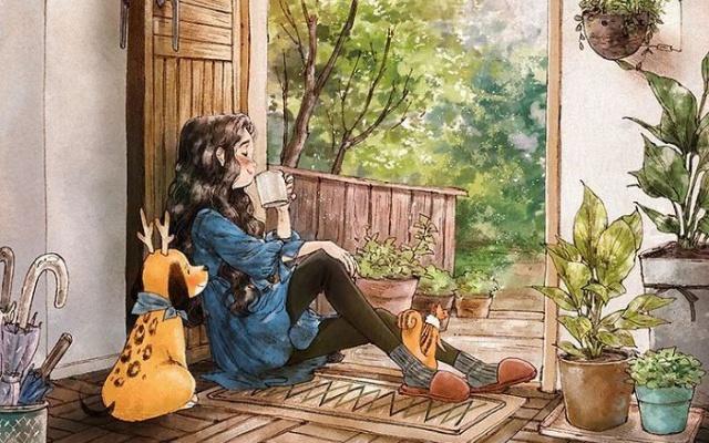Jedna z mnoha ilustrací...