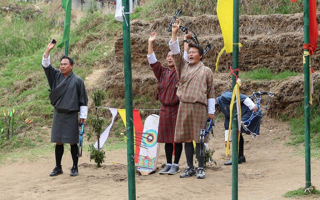 Bhútánští lučištníci