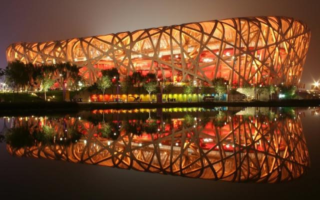 Olympijský stadion v Číně