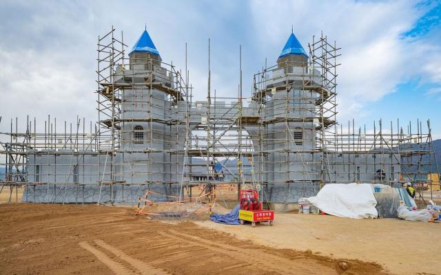 Výstavba Legolandu