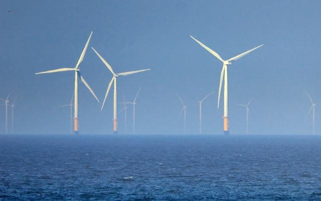 Větrné farmy na moři