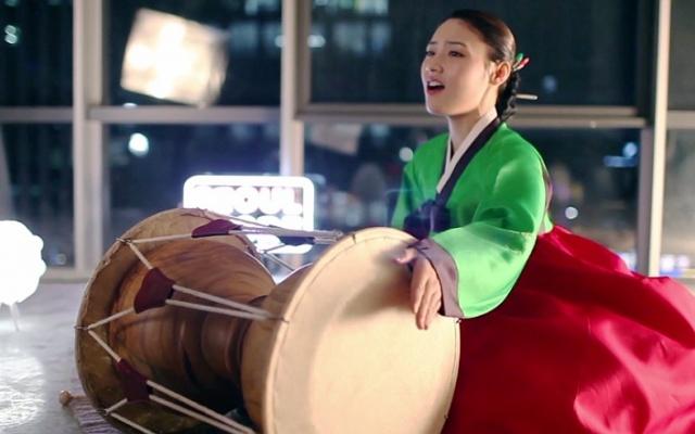 hra na buben changgo