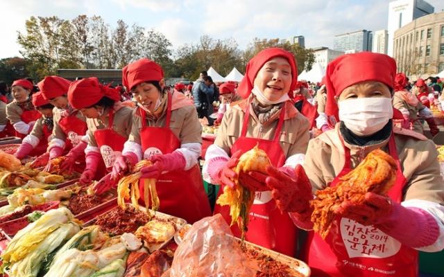 Kimchi festival v roce 2014