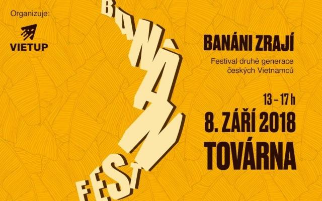 Banán fest se koná již 8. září od 13 hodin