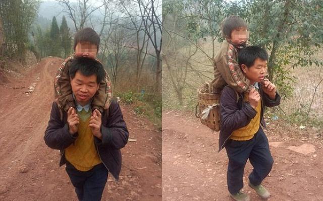 Yu Xukang a jeho syn Qiang