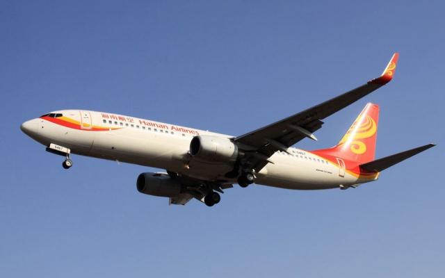 Letadlo Hainan Airlines / CC BY-SA 2.0
