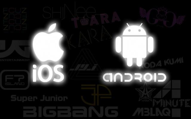 iOS+Android+Hudební hvězdy