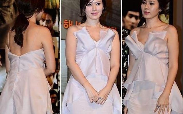 Son Ye Jin a její nádherné šaty.