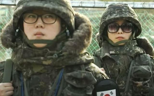 Korejky v armádě