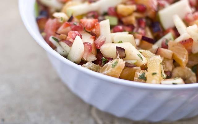 fruit salad - ovocný salát