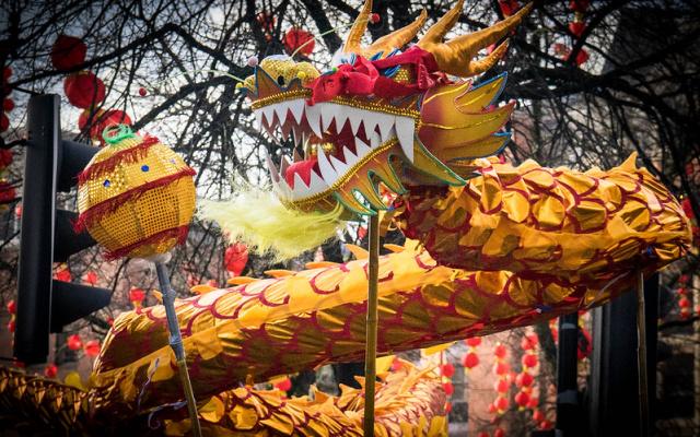 Tradiční čínské oslavy nového lunárního roku