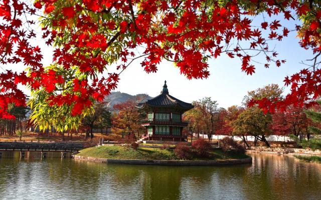 Ilustrační foto - Gjeongbok palác