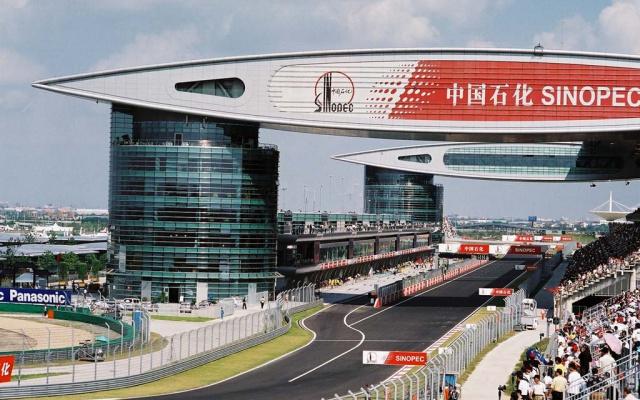 Závodní okruh v Šanghaji