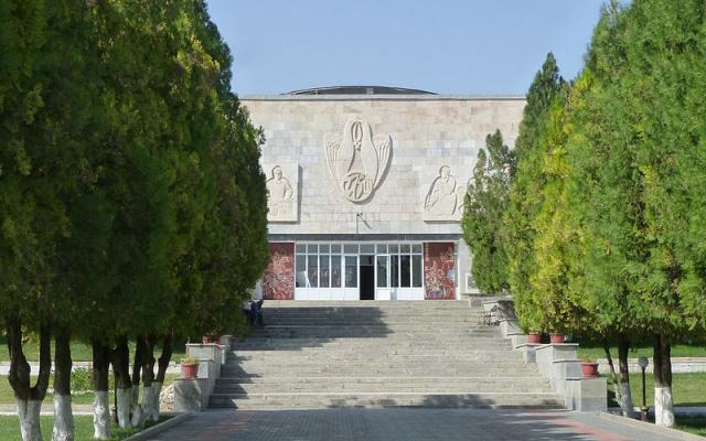 Muzeum v Samarkandu