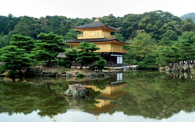 Kjóto - Zlatý pavilon by  David Sanz / Flicker.com