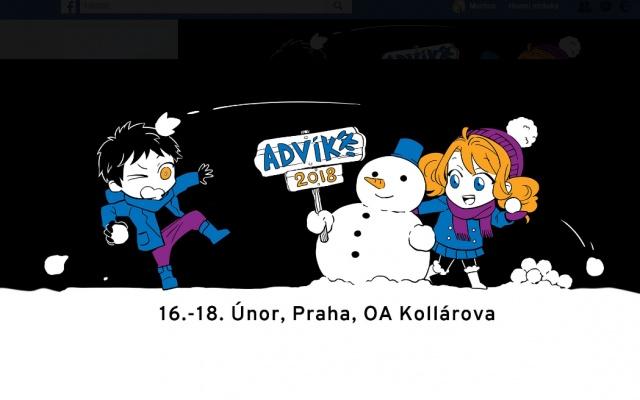Úvodní fotka zimního Advíku 2018 na FB stránkách