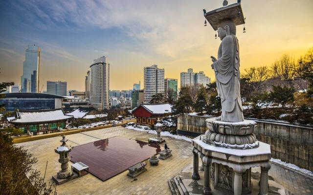 Soul - chrám Bongeunsa