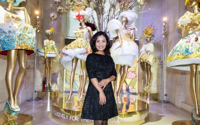 Guo v Muzeu dekorativních umění v Paříži