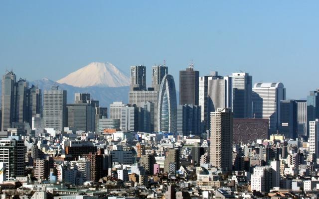 Mrakodrapy v Shinjuku (ilustrační foto)