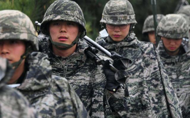kórejská armáda