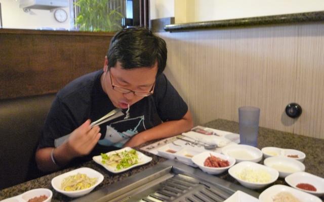 Korejci jsou jedlíci, to se jim nezapře