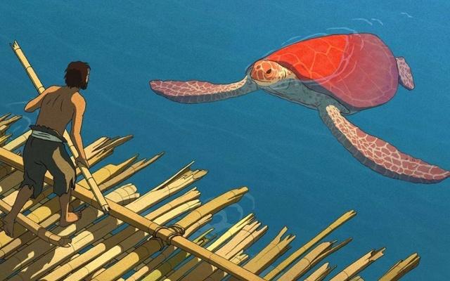Záběr z filmu Červená želva