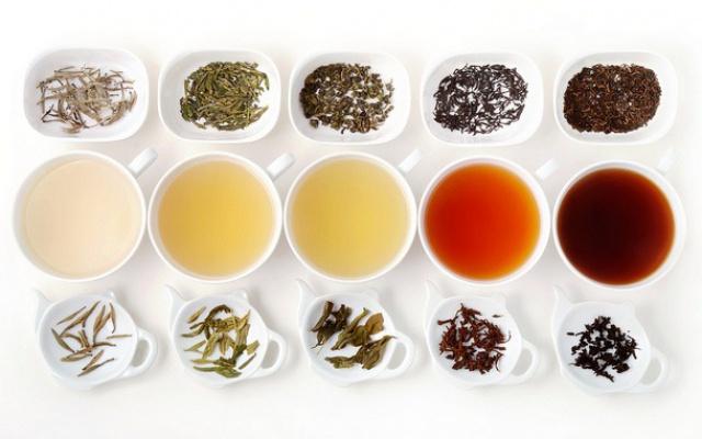 Druhy čajů a jejich nálevů