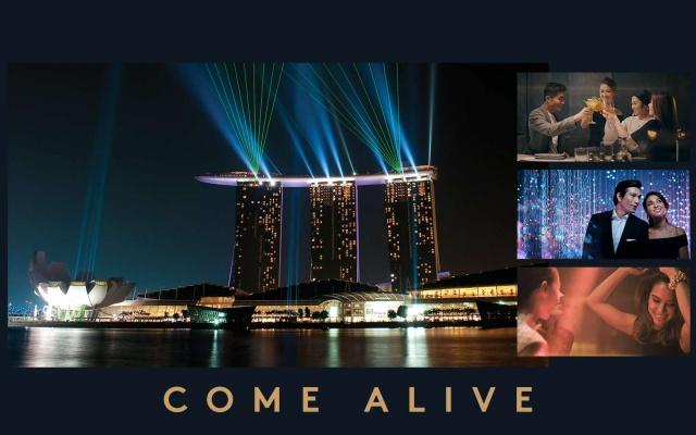 Marina Bay Sands v Singapure