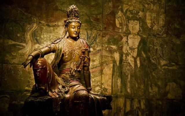 Socha Guan Yin z období říše Liao
