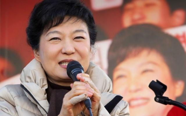 nová prezidentka Park Geun Hye