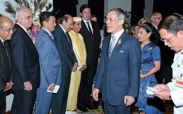 Král, formální vůdce Thajska