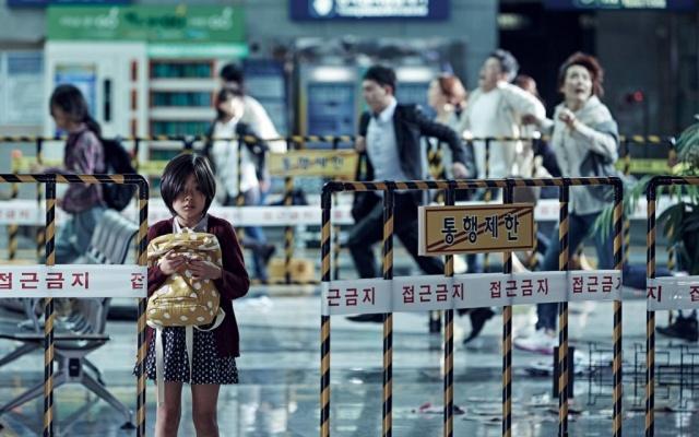 Scéna z filmu Vlak do Pusanu