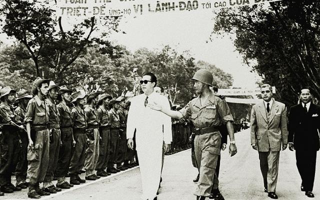 Bảo Đại jako vůdce jižního Vietnamu, 1954