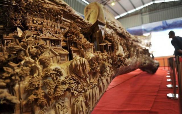 Dřevěná socha