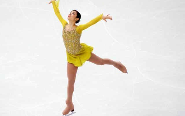 Kim Yuna na olympiádě v Soči