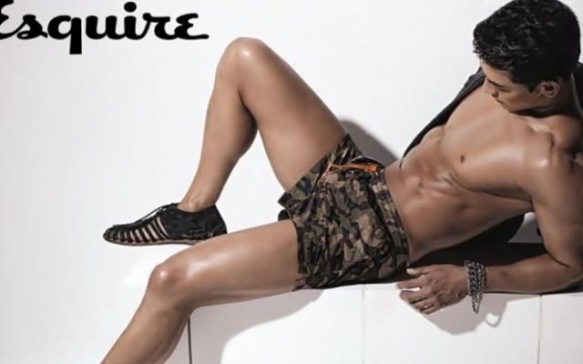 Jung Suk Won pro Esquire