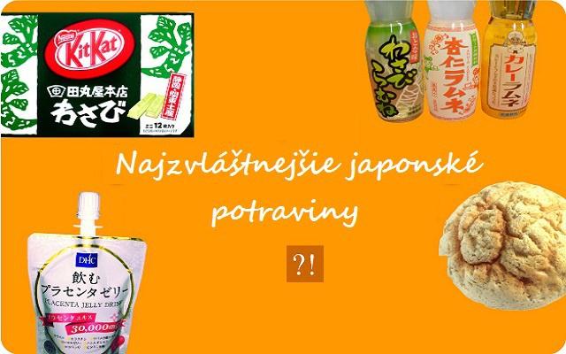 Zvláštne japonské potraviny