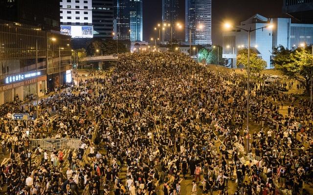 Pro-demokratický protest v Hong Kongu, 2014