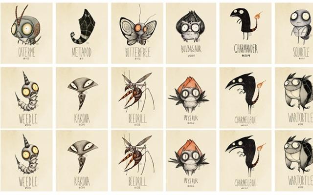 Pokémoni alá Tim Burton