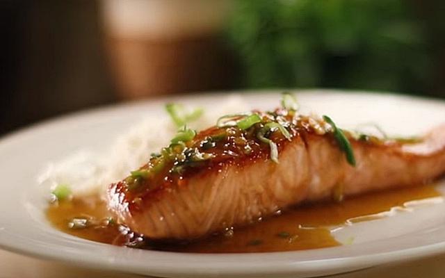 Ryba s medem na korejský způsob