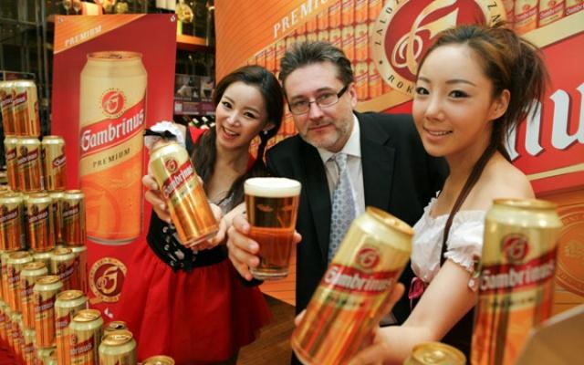 České pivo Gambrinus vstupuje na korejský trh